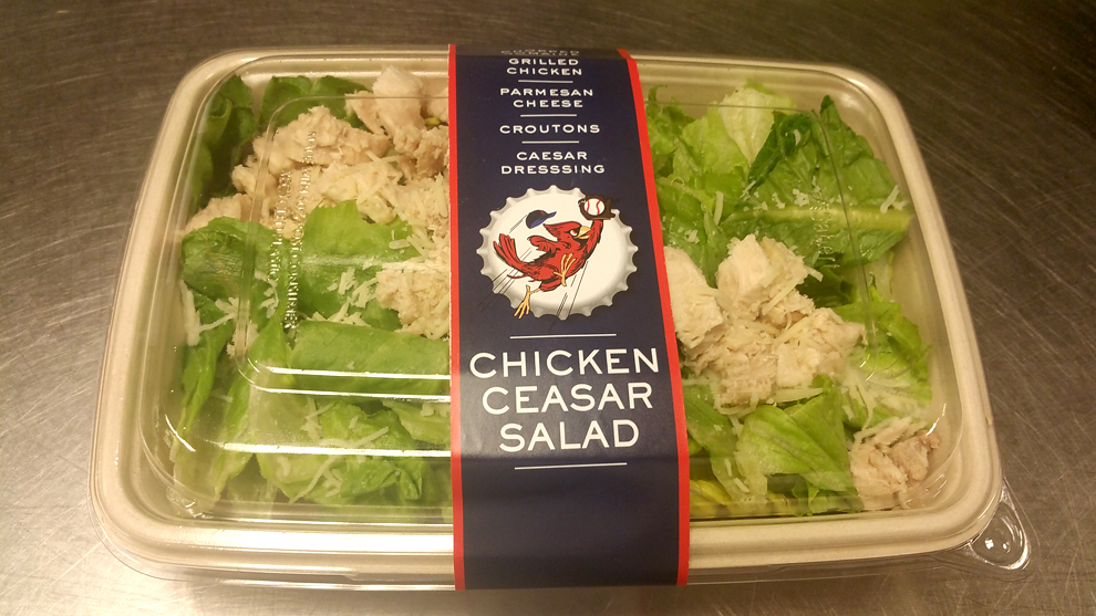 Salad (Chicken Caesar)