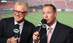 Tim McCarver and Dan McLaughlin