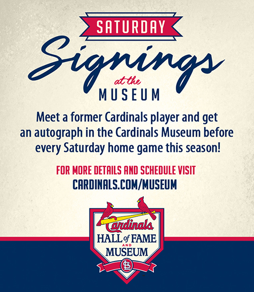 Satruday Signings at the Museum