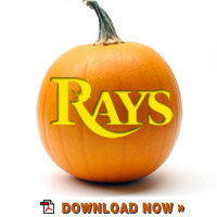 Download Rays logo stencil