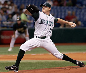 Scott Kazmir - Home Uniform