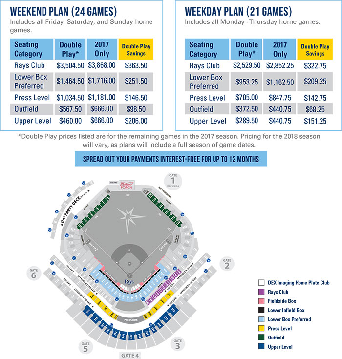 Pricing and Seating Map