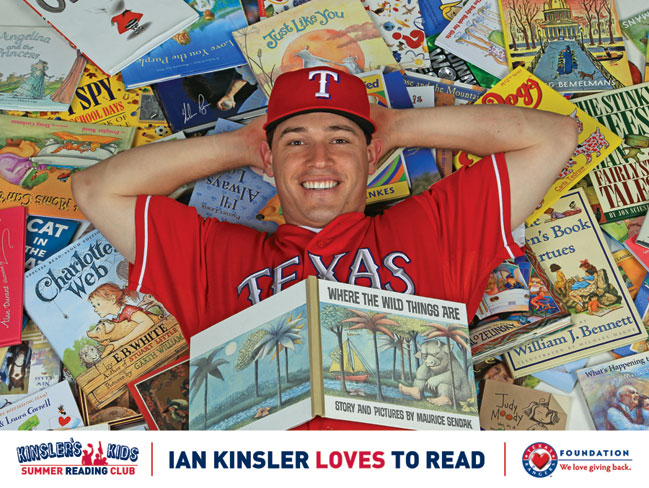 Kinsler's Kids Reading Club