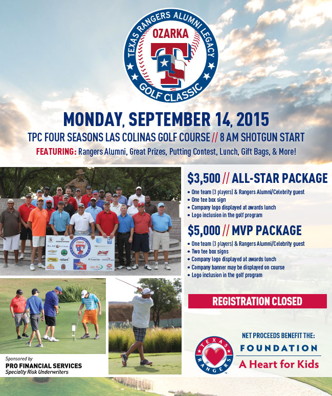 Alumni Golf Classic - registration closed.
