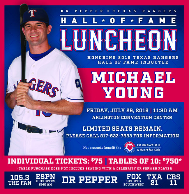 Limited tickets available for the Hall of Fame Luncheon