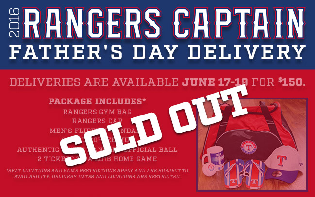 Father's Day Package - Get dad the perfect gift this Father's Day with a special delivery from Rangers Captain!