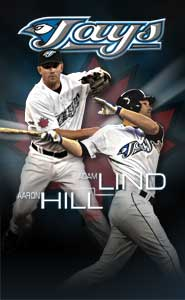 Aaron Hill and Adam Lind