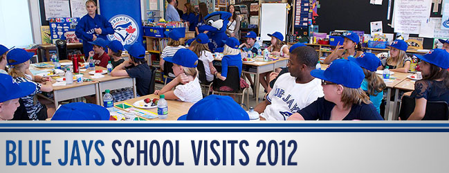2012 Blue Jays School Visits