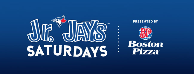 Jr. Jays Saturdays presented by Boston Pizza