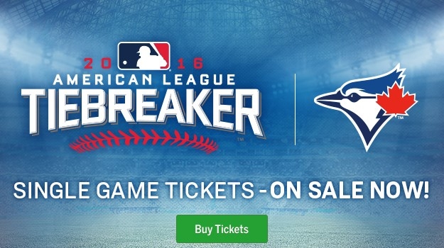 Tiebreaker Game Single Game Tickets On Sale Now