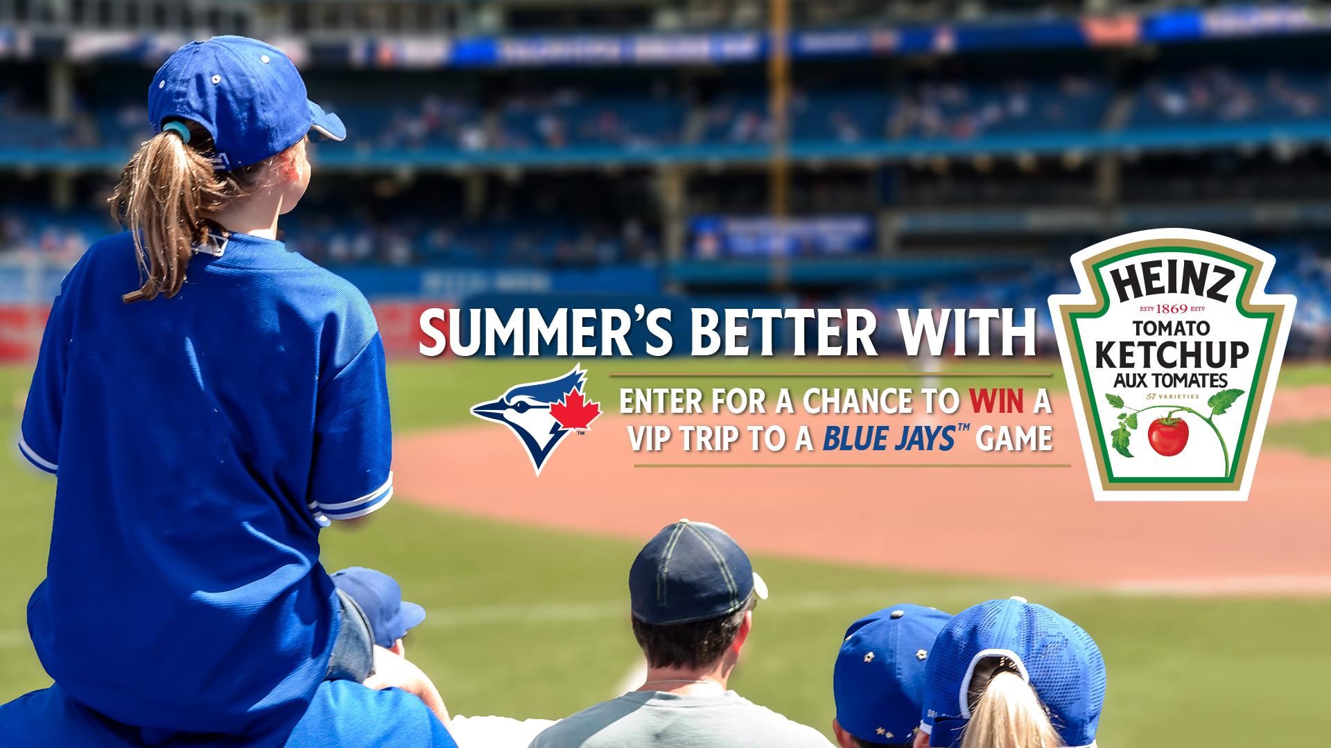 Heinz Summer's Better with Baseball Contest