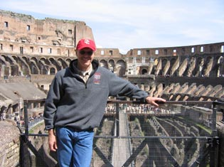 Jeffrey S. in Rome, Italy