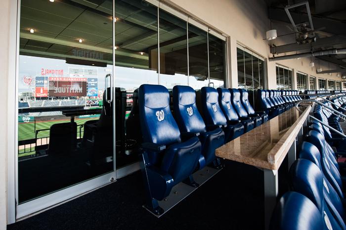 Premium Seating Amp Sections Washington Nationals